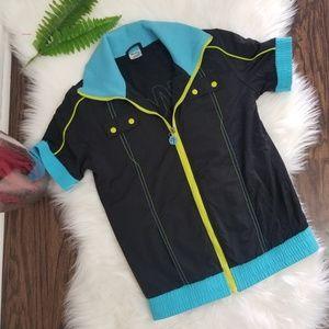 Zumba Fitness|Sport Jacket Short Sleeve